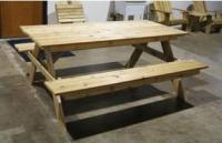 A8208;Style Picnic Table